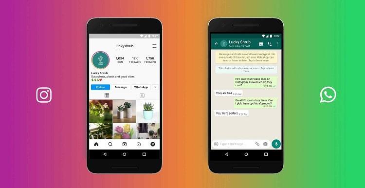 Instagram y Whatsappen la comunicación empresarial